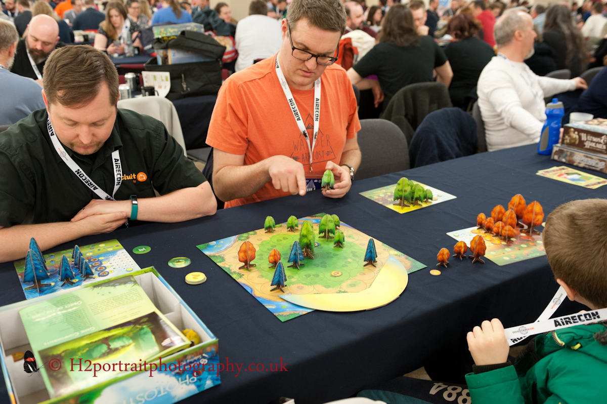 Airecon 2018,photosynthesis board game